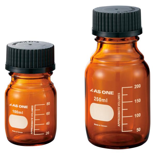ASONE玻璃瓶NEO (茶色)