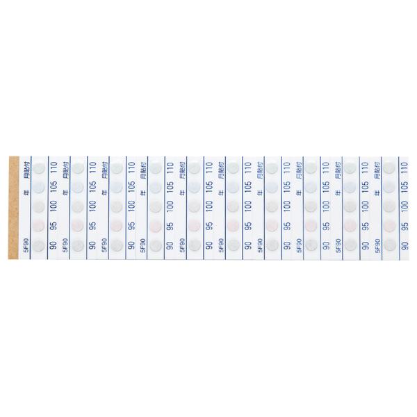 测温纸 (不可逆.5种温度显示)